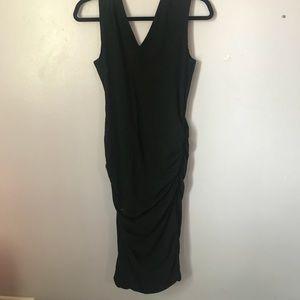 Black Midi James Perse Dress